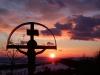 Bolkov při západu slunce