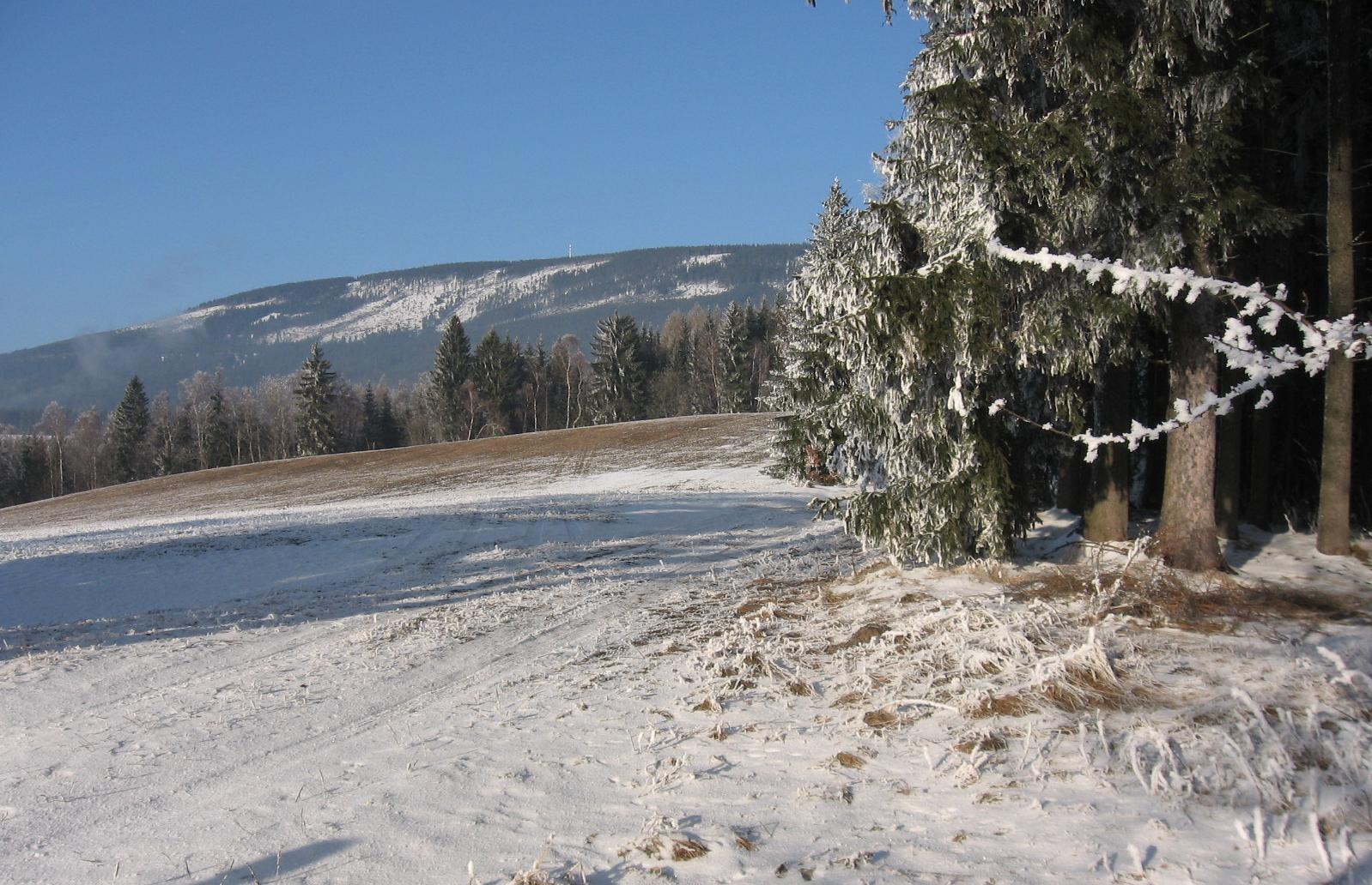 Bolkov v zimě